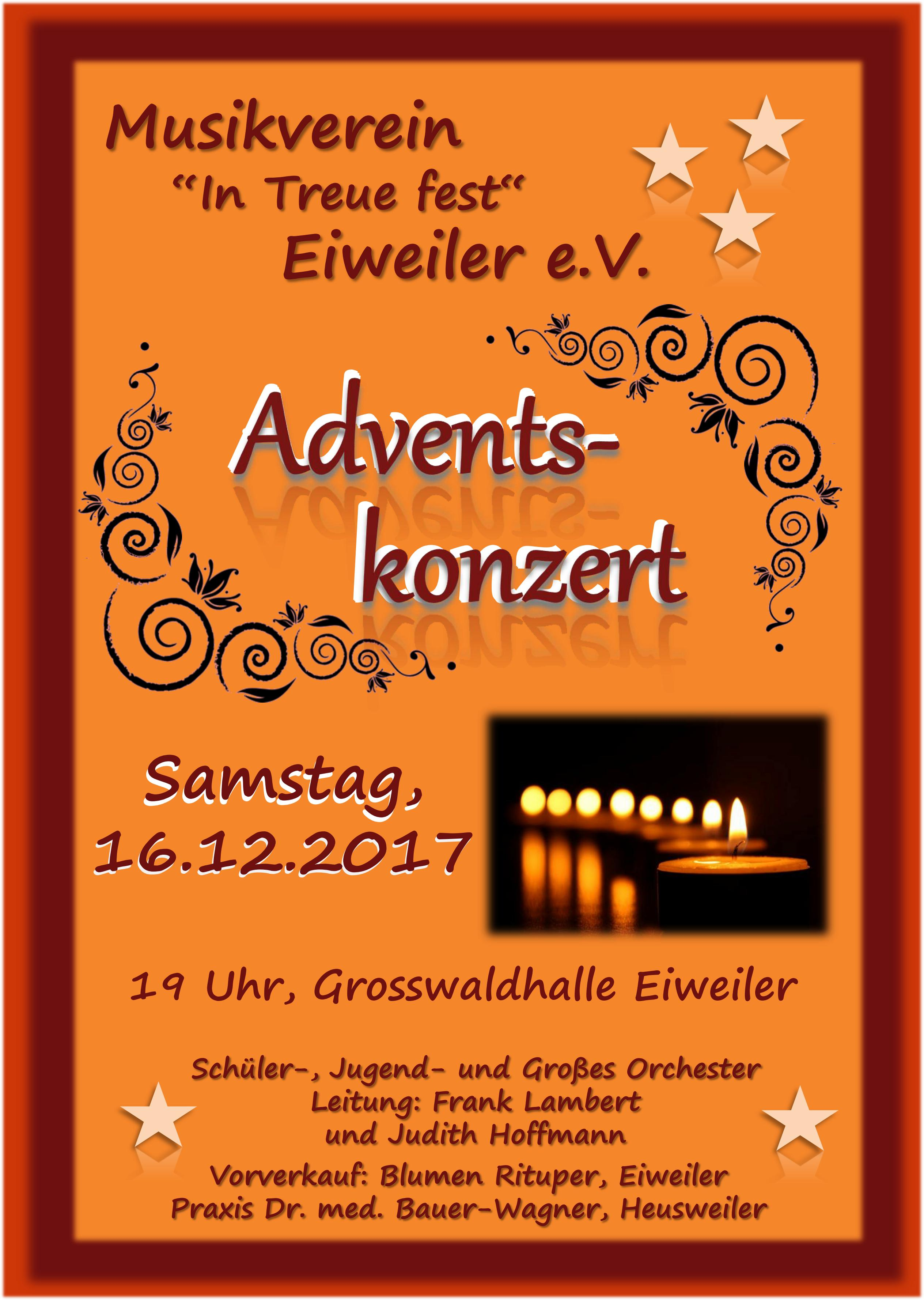 Plakat Adventskonert 2017